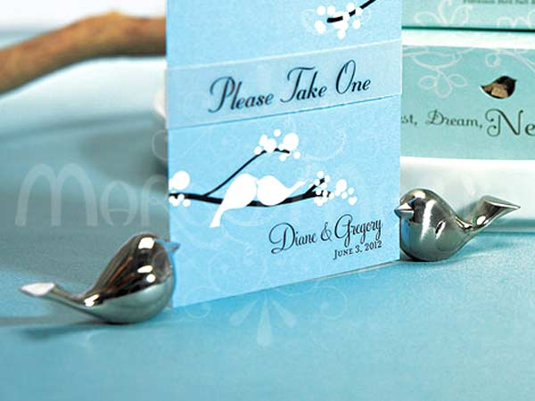Love Bird place card holder,marco mario souvenir, wedding souvenirs, souvenir pernikahan surabaya indonesia, wedding favors, souvenir ideas, royal wedding souvenirs