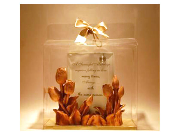 Classic Tulip Photo Holder,marco mario souvenir, wedding souvenirs, souvenir pernikahan