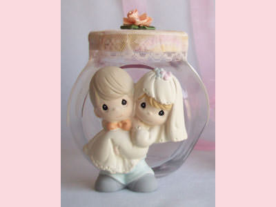 Romantic Couple Jar,marco mario souvenir, wedding souvenirs, souvenir pernikahan
