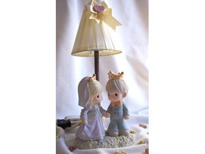 King and Queen Table Lamp,marco mario souvenir, wedding souvenirs, souvenir pernikahan