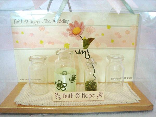 Daisy Mini Pen Holder,marco mario souvenir, wedding souvenirs, souvenir pernikahan