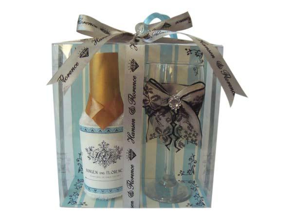 Wedding Wine Bottle and Glass,marco mario souvenir, wedding souvenirs, souvenir pernikahan