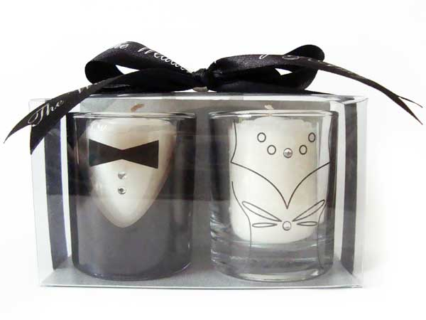 Tuxedo and Gown Candle Holder,marco mario souvenir, wedding souvenirs, souvenir pernikahan surabaya indonesia, wedding favors, souvenir ideas, royal wedding souvenirs