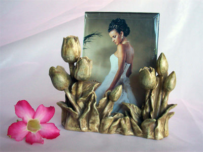 Exclusive Tulip 4R Photo Frame,marco mario souvenir, wedding souvenirs, souvenir pernikahan