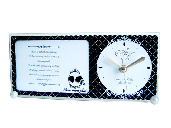 Classic 3R Photo Frame and Clock,marco mario souvenir, wedding souvenirs, souvenir pernikahan