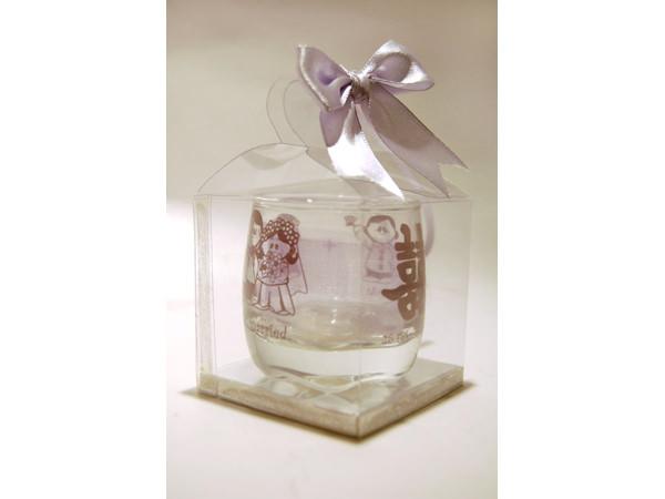 1 Colour Printed Small Clear Glass,marco mario souvenir, wedding souvenirs, souvenir pernikahan surabaya indonesia, wedding favors, souvenir ideas, royal wedding souvenirs