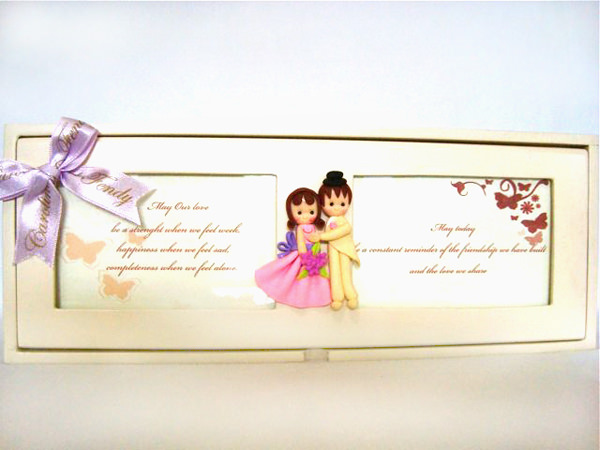 European Couple Engagement Box,marco mario souvenir, wedding souvenirs, souvenir pernikahan