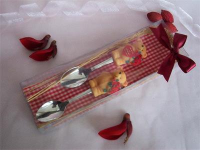 Brown Bear Spoon ,marco mario souvenir, wedding souvenirs, souvenir pernikahan surabaya indonesia, wedding favors, souvenir ideas, royal wedding souvenirs