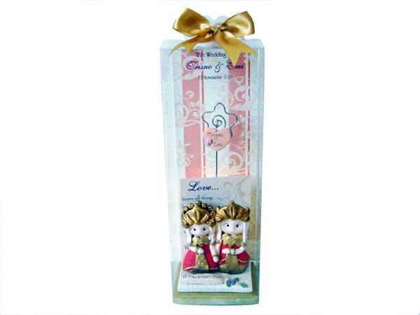 Palembang Traditional Wedding Photo or Memo Holder,marco mario souvenir, wedding souvenirs, souvenir pernikahan