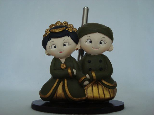 Traditional Pen and Holder L,marco mario souvenir, wedding souvenirs, souvenir pernikahan