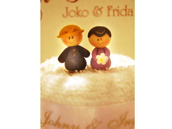 Traditional Towel Cake ,marco mario souvenir, wedding souvenirs, souvenir pernikahan