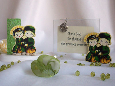Traditional 2R Photo frame and Pen Holder,marco mario souvenir, wedding souvenirs, souvenir pernikahan