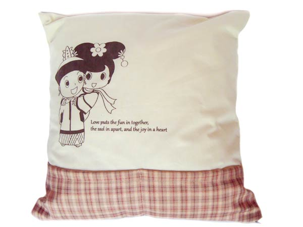 Oriental Vintage Cushion with Remote Pouch ,marco mario souvenir, wedding souvenirs, souvenir pernikahan surabaya indonesia, wedding favors, souvenir ideas, royal wedding souvenirs