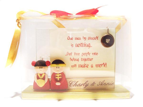 Chinese Couple 2R Frame,marco mario souvenir, wedding souvenirs, souvenir pernikahan surabaya indonesia, wedding favors, souvenir ideas, royal wedding souvenirs