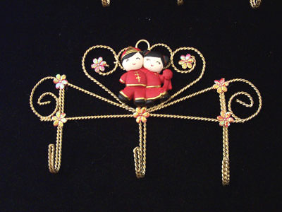 Oriental Key Holder 3,marco mario souvenir, wedding souvenirs, souvenir pernikahan surabaya indonesia, wedding favors, souvenir ideas, royal wedding souvenirs