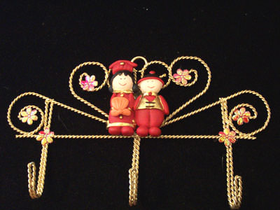 Oriental Key Holder 2 ,marco mario souvenir, wedding souvenirs, souvenir pernikahan surabaya indonesia, wedding favors, souvenir ideas, royal wedding souvenirs