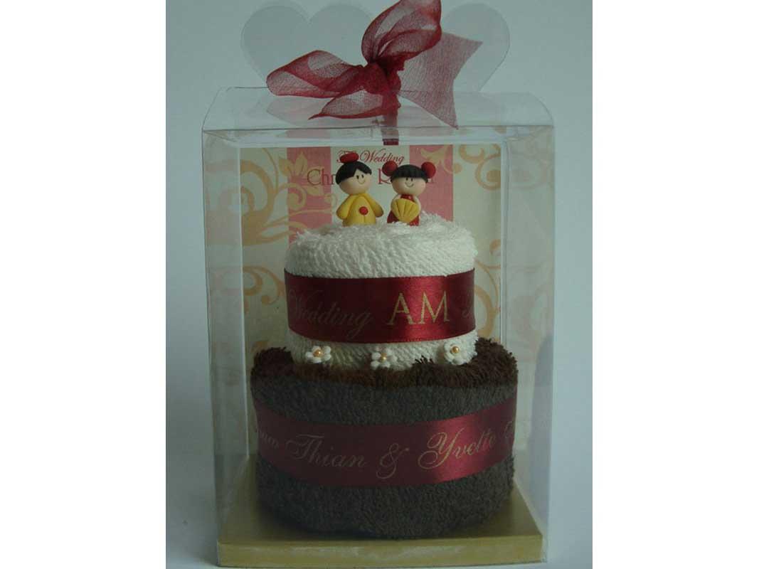 Oriental Towel Cake,marco mario souvenir, wedding souvenirs, souvenir pernikahan