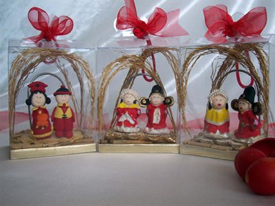 Cute Chinese Couple Card Holder,marco mario souvenir, wedding souvenirs, souvenir pernikahan