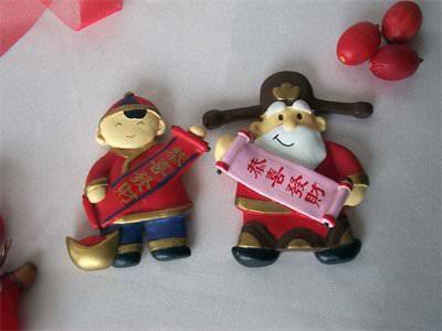 Chinese New Year Magnet,marco mario souvenir, wedding souvenirs, souvenir pernikahan