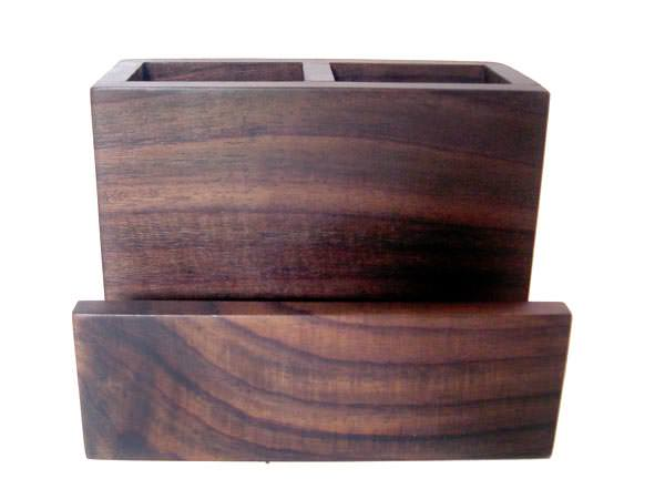 Pen n Card Holder Sono Wooden Box,marco mario souvenir, wedding souvenirs, souvenir pernikahan