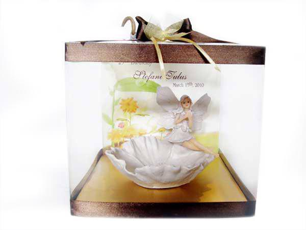 Pretty Angel in flower Bowl,marco mario souvenir, wedding souvenirs, souvenir pernikahan surabaya indonesia, wedding favors, souvenir ideas, royal wedding souvenirs