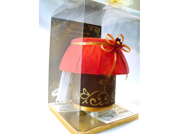 Elegant Brown Lamp,marco mario souvenir, wedding souvenirs, souvenir pernikahan