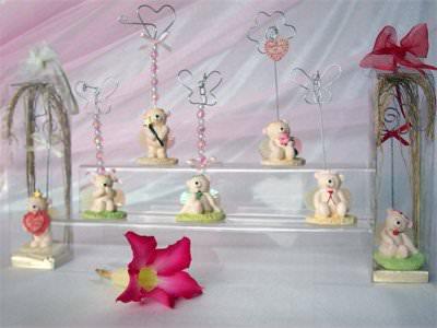 Angel Bear Photo or Memo Holder ,marco mario souvenir, wedding souvenirs, souvenir pernikahan