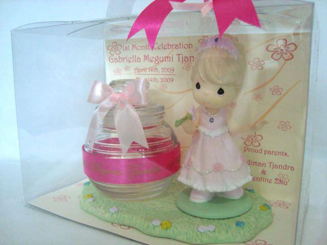 Pearl Princess Cookies Jar,marco mario souvenir, wedding souvenirs, souvenir pernikahan