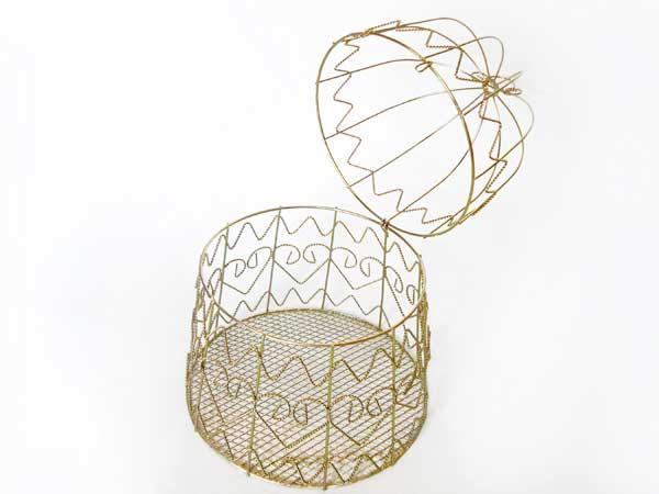Bell Basket with Bow,marco mario souvenir, wedding souvenirs, souvenir pernikahan