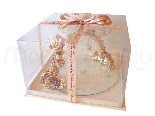 Gold Roses Engagement Tray,marco mario souvenir, wedding souvenirs, souvenir pernikahan surabaya indonesia, wedding favors, souvenir ideas, royal wedding souvenirs