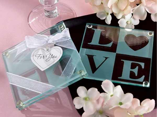 L O V E glass coasters,,marco mario souvenir, wedding souvenirs, souvenir pernikahan surabaya indonesia, wedding favors, souvenir ideas, royal wedding souvenirs
