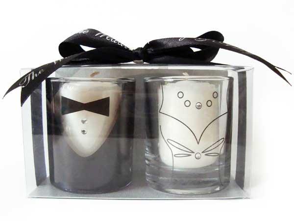 Tuxedo and Gown Candle Holder set 2,marco mario souvenir, wedding souvenirs, souvenir pernikahan surabaya indonesia, wedding favors, souvenir ideas, royal wedding souvenirs