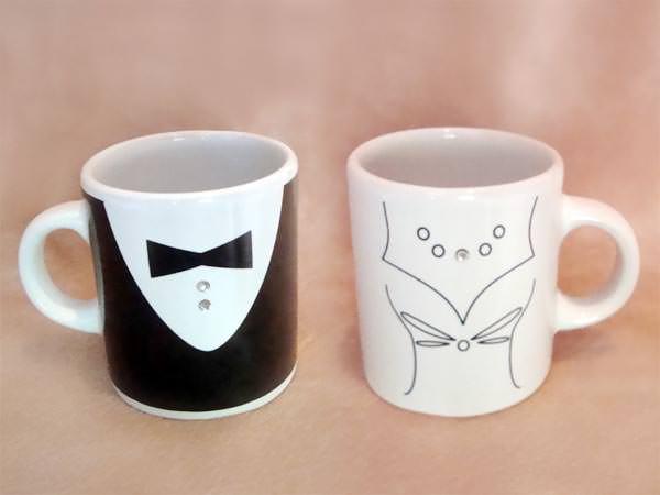 Tuxedo and Gown Mugs,,marco mario souvenir, wedding souvenirs, souvenir pernikahan surabaya indonesia, wedding favors, souvenir ideas, royal wedding souvenirs