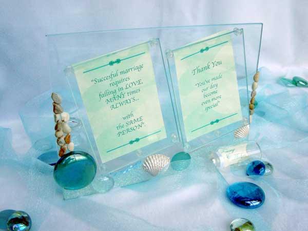 Oceanic Twin Photo Frame,,marco mario souvenir, wedding souvenirs, souvenir pernikahan