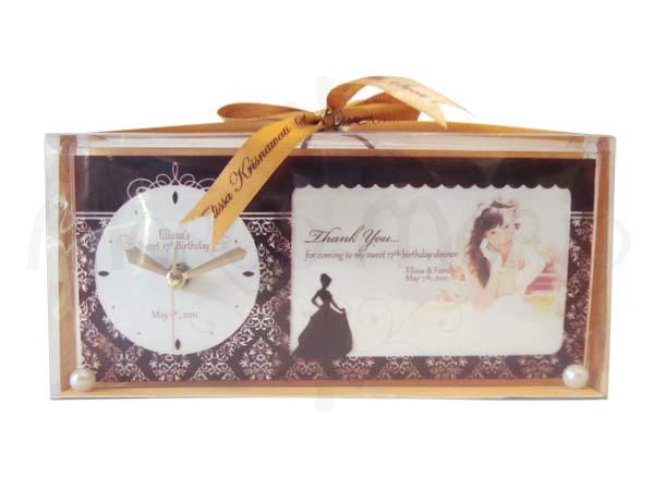 Clock and Frame Printing,marco mario souvenir, wedding souvenirs, souvenir pernikahan