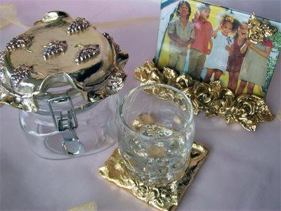 Gold set 2,marco mario souvenir, wedding souvenirs, souvenir pernikahan