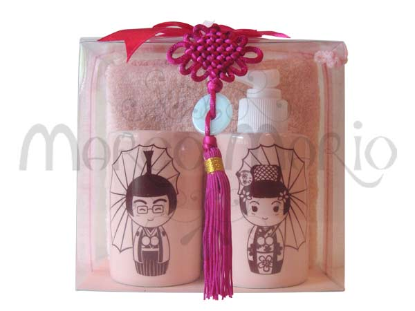 Japanese Wedding Toiletries Kit,marco mario souvenir, wedding souvenirs, souvenir pernikahan surabaya indonesia, wedding favors, souvenir ideas, royal wedding souvenirs