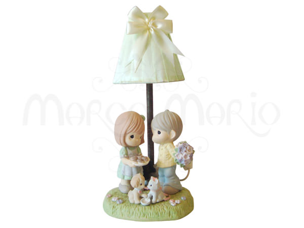 Sweet Couple Table Lamp,marco mario souvenir, wedding souvenirs, souvenir pernikahan