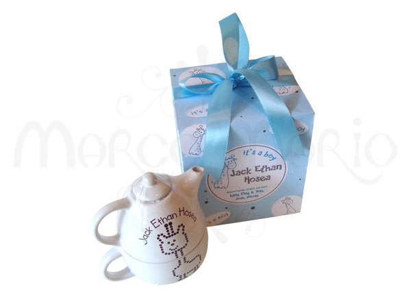 Giraffe Tea Set,marco mario souvenir, wedding souvenirs, souvenir pernikahan surabaya indonesia, wedding favors, souvenir ideas, royal wedding souvenirs