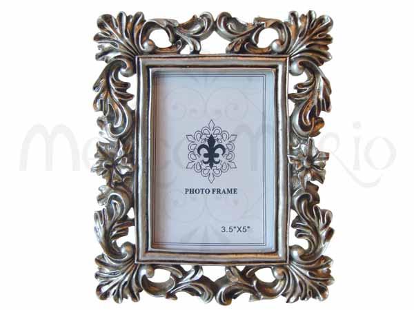 Elegant Silver 3R Frame,marco mario souvenir, wedding souvenirs, souvenir pernikahan