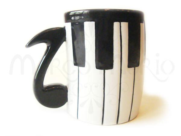 Piano Mug,marco mario souvenir, wedding souvenirs, souvenir pernikahan