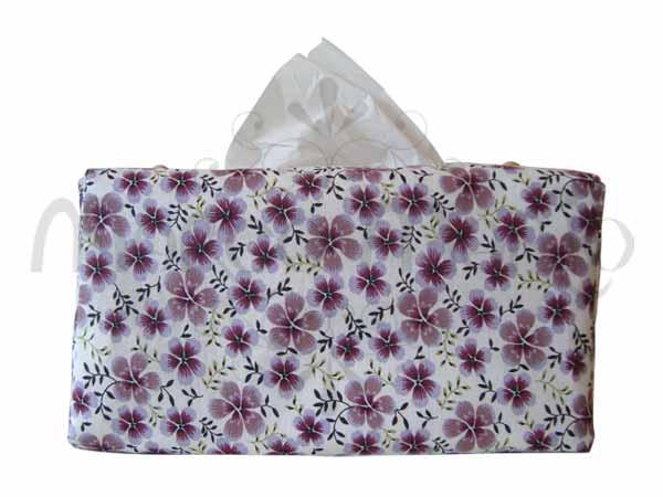 Floral Tissue Cover,marco mario souvenir, wedding souvenirs, souvenir pernikahan