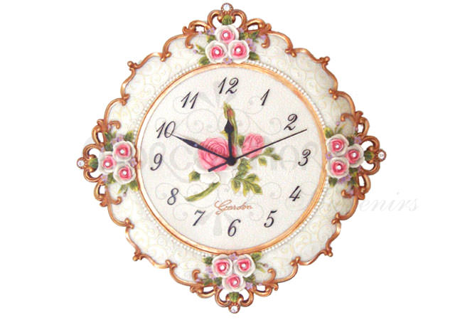 Elegant Vintage Wall Clock,marco mario souvenir, wedding souvenirs, souvenir pernikahan surabaya indonesia, wedding favors, souvenir ideas, royal wedding souvenirs