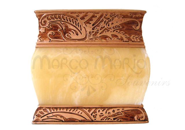 Marble Gold Tissue Holder,marco mario souvenir, wedding souvenirs, souvenir pernikahan
