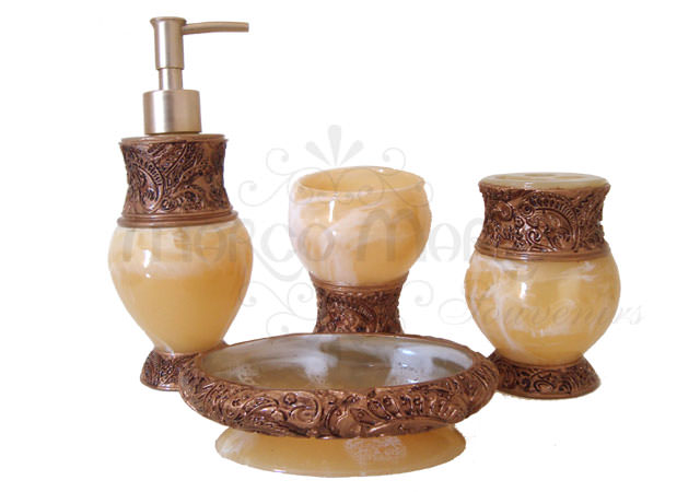 Marble Gold Bathroom Set,marco mario souvenir, wedding souvenirs, souvenir pernikahan surabaya indonesia, wedding favors, souvenir ideas, royal wedding souvenirs
