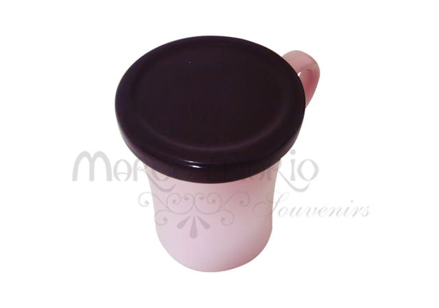 Sweet Pink and Brownie Mug,marco mario souvenir, wedding souvenirs, souvenir pernikahan surabaya indonesia, wedding favors, souvenir ideas, royal wedding souvenirs