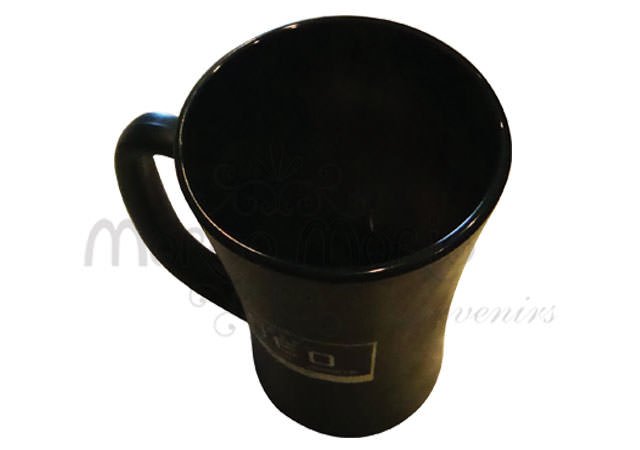 Black Elegant Mug,marco mario souvenir, wedding souvenirs, souvenir pernikahan surabaya indonesia, wedding favors, souvenir ideas, royal wedding souvenirs