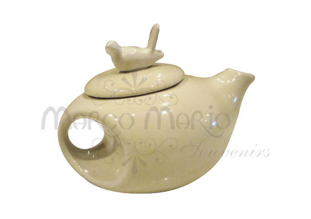 pure white pigeon teapot,marco mario souvenir, wedding souvenirs, souvenir pernikahan surabaya indonesia, wedding favors, souvenir ideas, royal wedding souvenirs