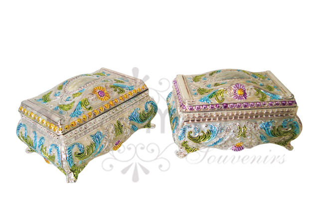 Classic colorful jewelery box,marco mario souvenir, wedding souvenirs, souvenir pernikahan