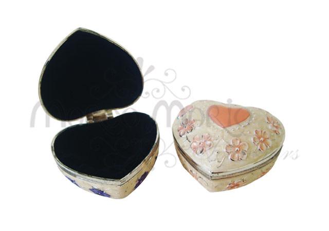 classic heart jewelry box,marco mario souvenir, wedding souvenirs, souvenir pernikahan